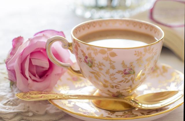 A cup pf tea